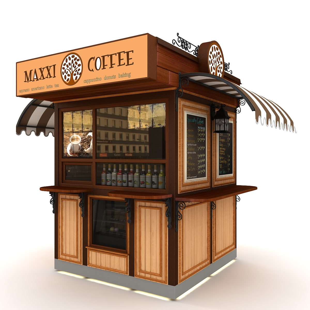free coffee kiosk business plan