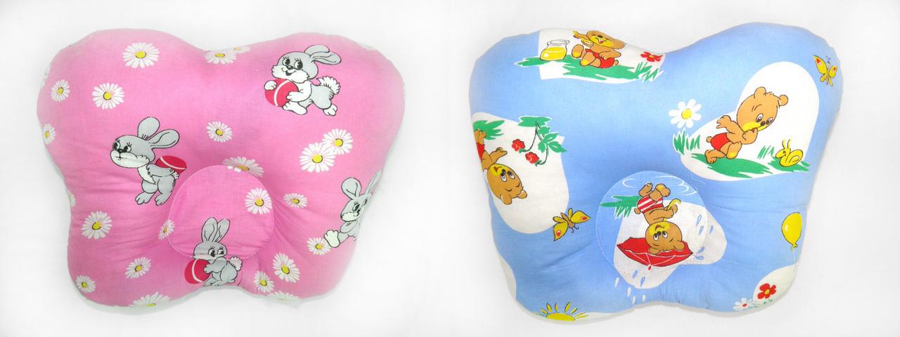 Подушка валик для новорожденных своими руками