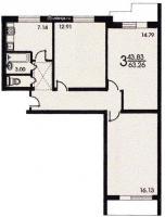 Планировка квартиры ,ул.Генерала Антонова,1.jpg